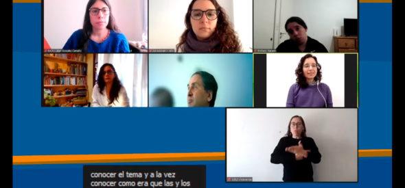 Participantes en la charla del NICA